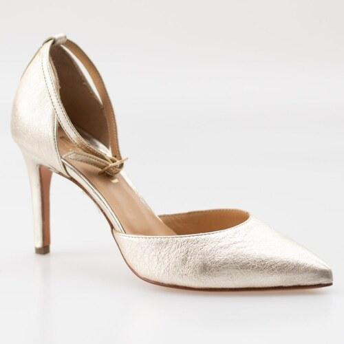 Pantofi dama din piele naturala, Lea-Gu, model stiletto