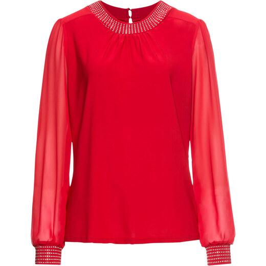 de unde pot cumpăra 100% de înaltă calitate nou ieftin Bonprix Bluză cu pietricele sclipitoare - GLAMI.ro